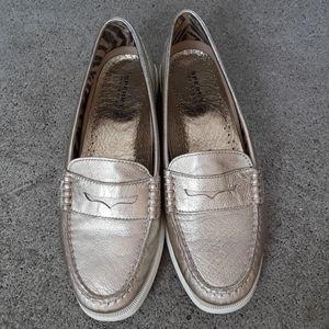 Sperry Top Sider Hayden  Platinum  . Size 9